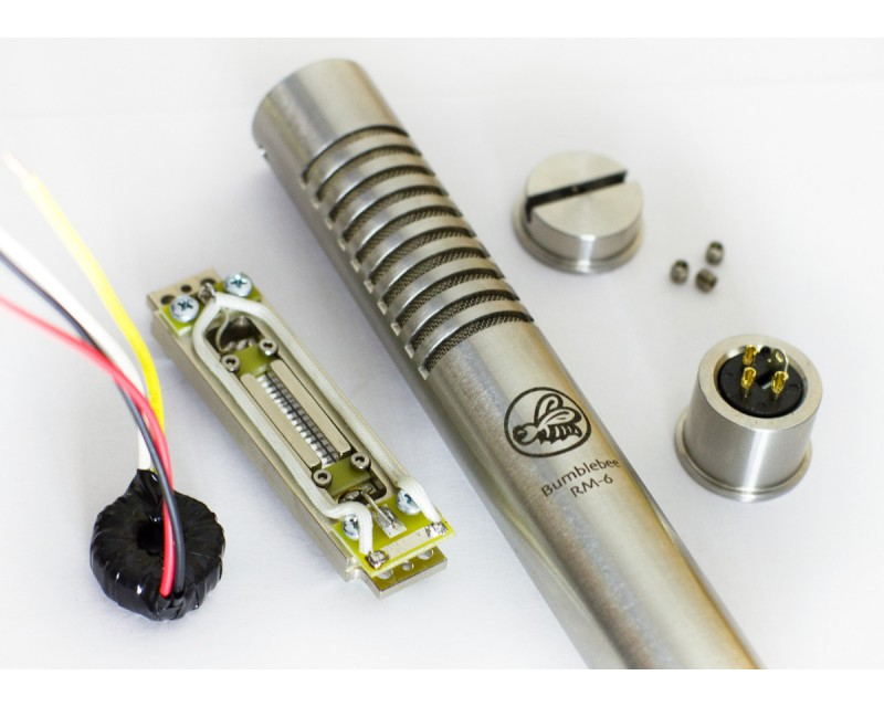RM-6 Ribbon Microphone Full DIY Kit