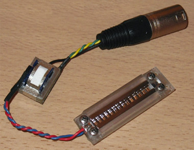 ribbon microphone motor and transformer, full assembly